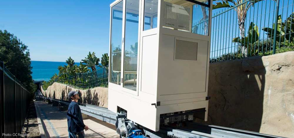 New funicular in Dana Point