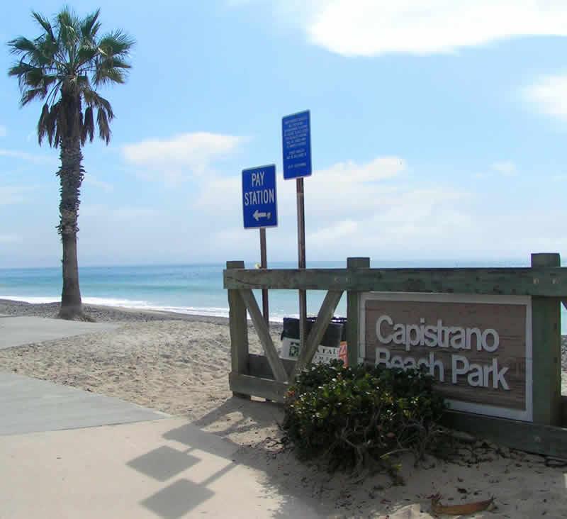 Capistrano Beach Sign