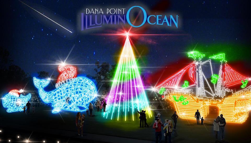 & New this year: Dana Pointu0027s ILLUMINOCEAN : 40 Nights of Holiday Lights